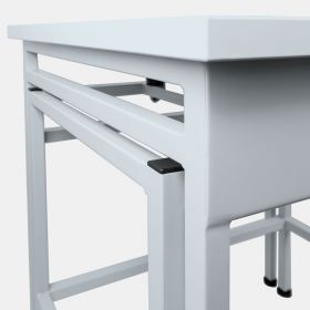 SAL/C/PLUS – Anti - The table provides comfort for balance operation and elimination of both, ground vibrations and vibrations being a result of user's activity while operating balance. The design, consisting of two elements prevents pressure being applied to the top, from being transferred to a balance base