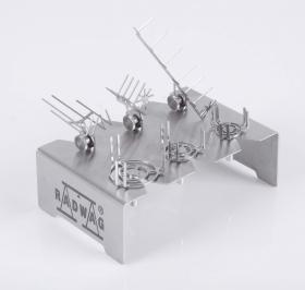 Juego de soportes para microtubos