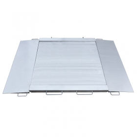 Balanzas inoxidables con rampas WPT/4N 600 H4 -   Ramp scales is manufactured from OH18N9 stainless steel with IP 68. On special order, it is possible to manufacture ramp scales in upgraded anti-corrosion stainless steel version