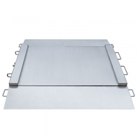 WPT/4N 300/600 H2 Stainless Steel Ramp Scale -   Ramp scales is manufactured from OH18N9 stainless steel with IP 68. On special order, it is possible to manufacture ramp scales in upgraded anti-corrosion stainless steel version