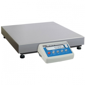 C315.60.C2.R Load Cell Platform Scale - The C315 series features an indicator PUE C315 series comprising backlit LCD display. C315 scales is manufactured using powder coated mild steel profiles, with stainless steel weighing platform