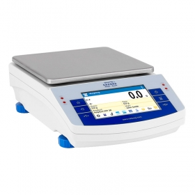 WLC 6.X2 Precision Balance - The X2 series balances feature the latest generation capacitive display providing the maximum comfort of use, available right at your fingertips. Ease of operation, clear menu and practical arrangement of the display guarantee the best ergonomics for your everyday tasks