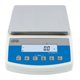 WLC 10/A2 Precision Balance -   The balance features a stainless steel weighing pan, and a backlit LCD guaranteeing clear weighing result presentation.    Communication interfaces: 2×RS232, USB type A, USB type B