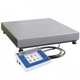 WPY 30/C3/K Multifunctional Scale - Apart from standard weighing mode, the WPY series additionally allows for parts counting, labelling and formula making processes. The universal software implemented in the terminal enables scales cooperation with barcode scanners, receipt printers, label printers, RFID scanners and PC peripherals (including mouse, keyboard and external data storage devices) all connectable to built-in interfaces RS232, USB and Ethernet