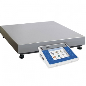 WLY 6/12/PGC/F1/R Scale - The scales enables cooperation with barcode scanner, printer, label printer, RFID readers and standard PC devices (mouse, keyboard, USB storage device). DESIGN AND FUNCTIONALITY All WLY scales is equipped with stainless weighing pan, TFT 5,7'' colourful touch screen and membrane keyboard