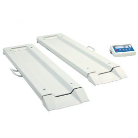WPT/8B 300C Ramps Bed Scale - Long beams of the WPT/8B series ensure measurement of bed's mass independently on location.