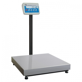 C315.30.C2.M Load Cell Platform Scale - The C315 series features an indicator PUE C315 series comprising backlit LCD display. C315 scales is manufactured using powder coated mild steel profiles, with stainless steel weighing platform