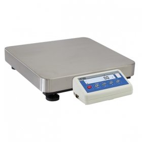 C315.15.F1.R Load Cell Platform Scale - The C315 series features an indicator PUE C315 series comprising backlit LCD display. C315 scales is manufactured using powder coated mild steel profiles, with stainless steel weighing platform