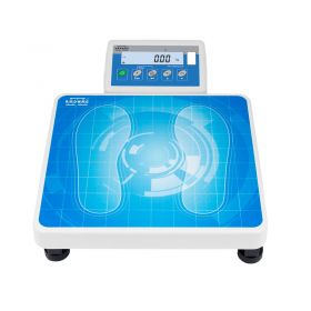 WPT 60/150 O Personal Scale - Personal scales is supplied either by mains or by batteries. The model without height-meter has an indicator attached to the weighing platform