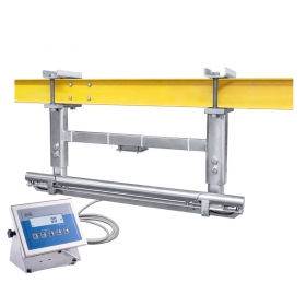 WPT/2K 300/600H Overhead Track Scale - Overhead track scale WPT/2K series is designed for weighing half carcass and porkhalf which are transported on scale's track. The weighing process starts when a roller with measured load enters a measuring section of the track