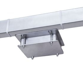 WPT/2K 300/600H Overhead Track Scale - The load cells are installed lengthwise to the weighing track which is fixed with spherical mandrels. Such design eliminates tensions in the construction