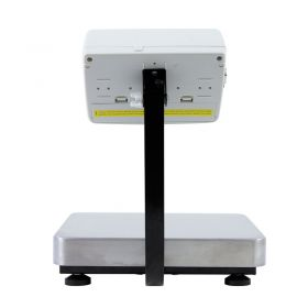 C315.15.F1.M Load Cell Platform Scale - The C315 series features an indicator PUE C315 series comprising backlit LCD display. C315 scales is manufactured using powder coated mild steel profiles, with stainless steel weighing platform