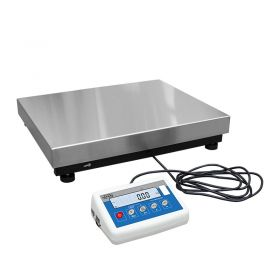 C315.60.C2.K Load Cell Platform Scale - The C315 series features an indicator PUE C315 series comprising backlit LCD display. C315 scales is manufactured using powder coated mild steel profiles, with stainless steel weighing platform