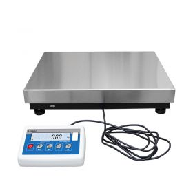 C315.60.C3.K Load Cell Platform Scale - The C315 series features an indicator PUE C315 series comprising backlit LCD display. C315 scales is manufactured using powder coated mild steel profiles, with stainless steel weighing platform