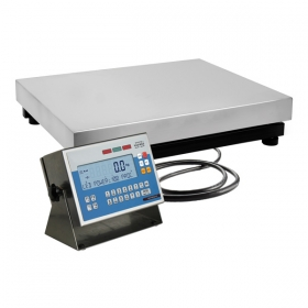 WPW 150/C3/K Multifunctional Scale - Functionality description of scale's versions:   Standard WPW scales:   Multifunctional WPW scales features a terminal PUE C41H series with backlit LCD display and a single load cell weighing platform in mild steel version. Scales WPW series is available in dual range version on surcharge