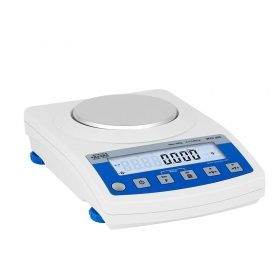WTC 200 Precision Balance -   The balance features a stainless steel weighing pan, and a backlit LCD guaranteeing clear weighing result presentation.  Communication interfaces: RS232, USB type A, USB type B