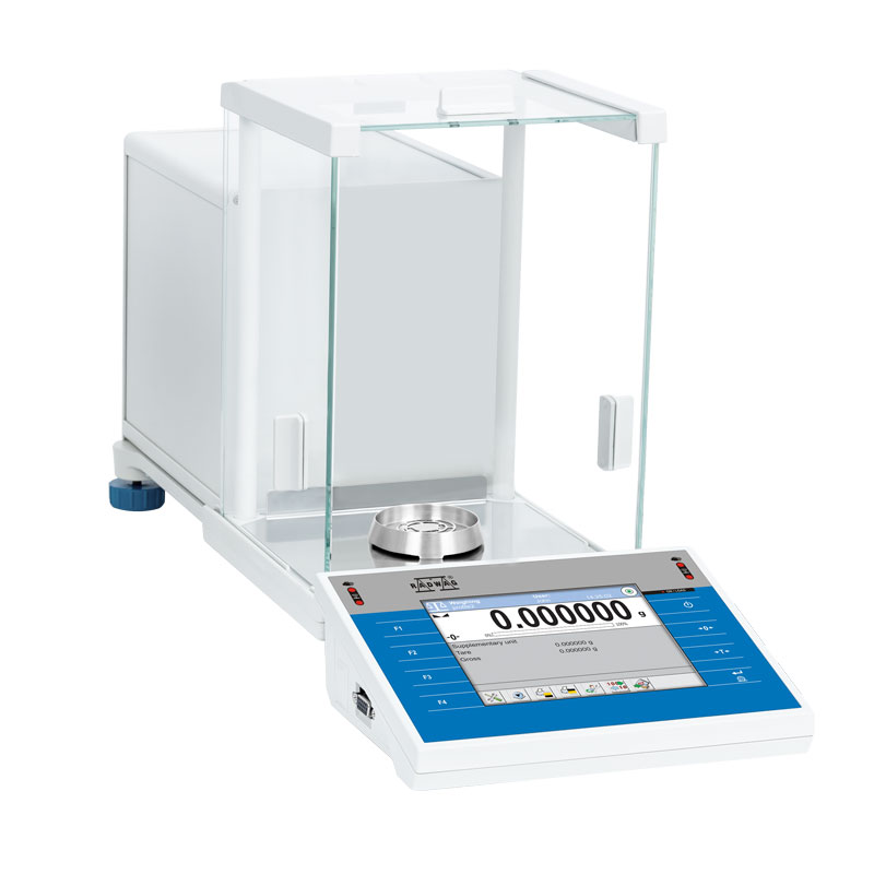 XA 52.4Y.M Microbalance - They are equipped with reliable measuring system housed within a tight casing. With this feature, the balance provides accuracy and fast measurement for almost any laboratory conditions