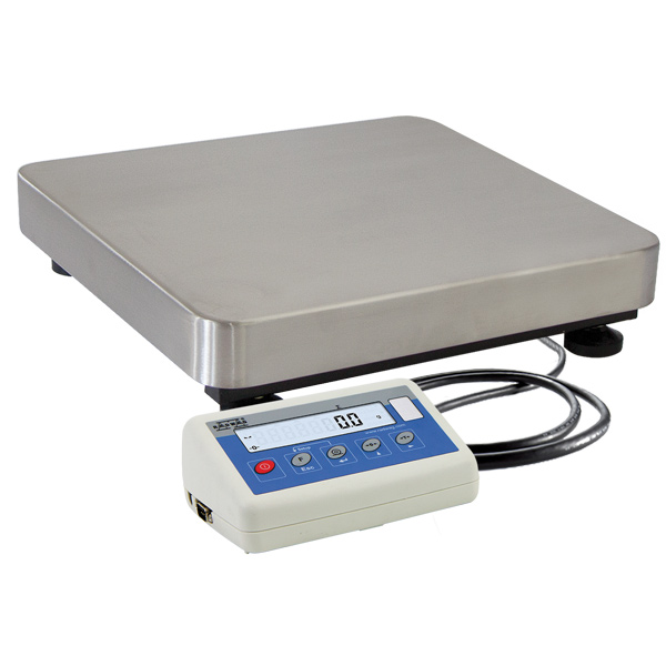 C315.6.F1.K Load Cell Platform Scale - The C315 series features an indicator PUE C315 series comprising backlit LCD display. C315 scales is manufactured using powder coated mild steel profiles, with stainless steel weighing platform