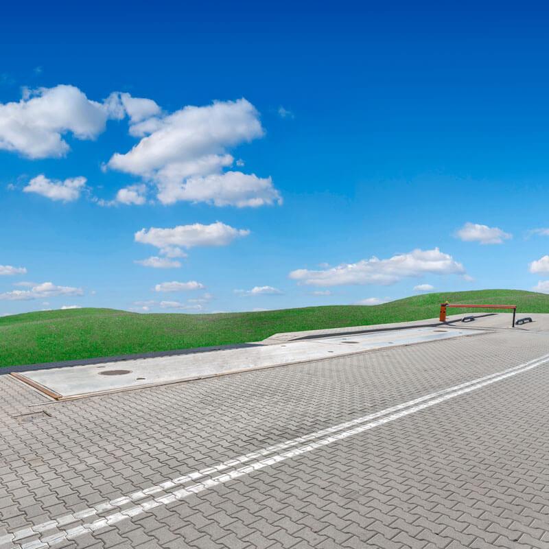Waga samochodowa betonowa WMT 18.60BZ view:2