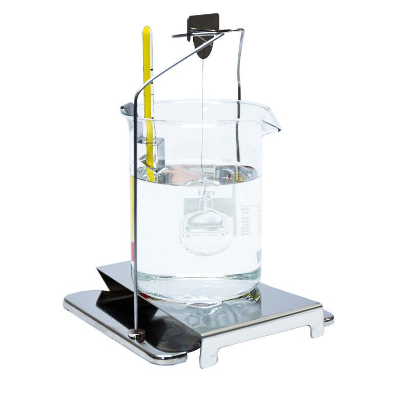 KIT128 -juego para determinar la densidad de los cuerpos fijos y liquidos  view:1